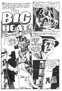 Weird Mystery Tales (KG Murray, 1973? series) #24 — The Big Heat! (page 1)