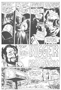 Weird Mystery Tales (KG Murray, 1973? series) #24 — Bigger than a Breadbox (page 1)
