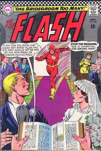 The Flash (DC, 1959 series) #165 (November 1966)