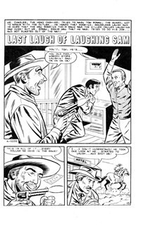 The Fastest Gun Western (Murray, 1977 series) #32 — Last Laugh of Laughing Sam (page 1)