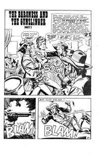 The Fastest Gun Western (Murray, 1977 series) #32 — The Baroness and the Gunslinger Part I (page 1)