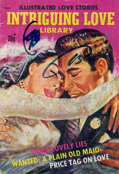 Intriguing Love Library (South Pacific/Jubilee, 1975) #3524 ([1975]) —Illustrated Love Stories