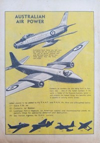 Little Trimmer Comic (Approved, 1950 series) #13 — Australian Air Power (page 1)