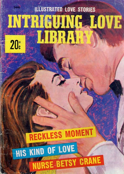 Intriguing Love Library (South Pacific/Jubilee, 1974) #2446 ([February 1974]) —Illustrated Love Stories