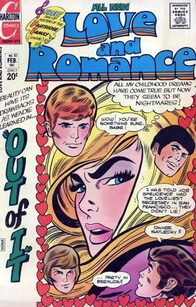 Love and Romance (Charlton, 1971 series) #10 (February 1973)