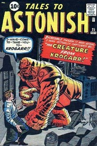 Tales to Astonish (Marvel, 1959 series) #25 — The Creature from Krogarr!