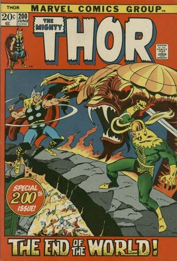 Thor (Marvel, 1966 series) #200 (June 1972)