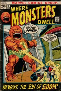 Where Monsters Dwell (Marvel, 1970 series) #16 — Beware the Son of Goom!