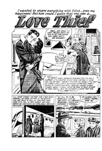 Love Diary (AGP, 1951? series) #3 — Love Thief (page 1)