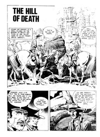 Strange Tales of the Wild West (Gredown/Boraig, 1980?)  — The Hill of Death (page 1)