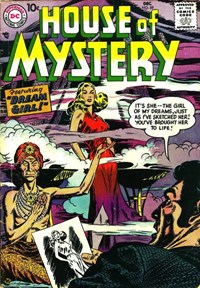 House of Mystery (DC, 1951 series) #69 — Dream Girl!
