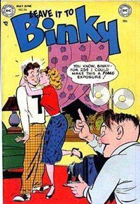 Leave it to Binky (DC, 1948 series) #26 (May-June 1952)