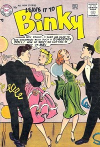 Leave it to Binky (DC, 1948 series) #58 (January-February 1957)
