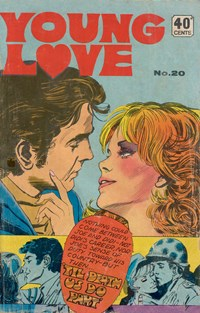 Young Love (KG Murray, 1975 series) #20 — Til Death Us Do Part (Cover)