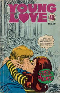 Young Love (KG Murray, 1975 series) #21 — Free to Love