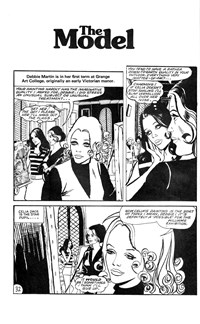 Young Love (Murray, 1975 series) #20 — The Model (page 1)