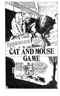 Young Love (KG Murray, 1975 series) #21 — Cat and Mouse Game (page 1)