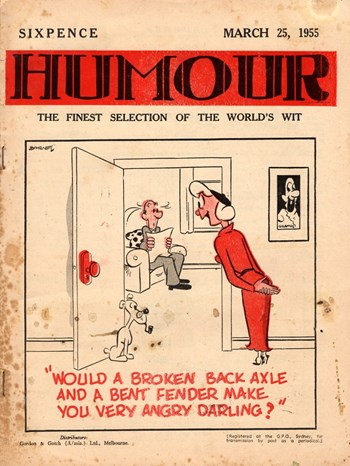 Humour (New Century, 1922 series) v35#12 (25 March 1955)