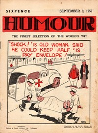 Humour (New Century, 1922 series) v35#36 — No title recorded (Cover)