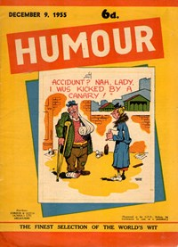 Humour (New Century, 1922 series) v35#49 — Untitled (Cover)