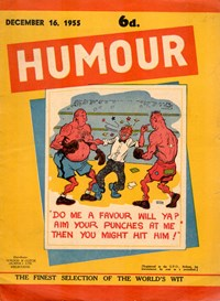 Humour (New Century, 1922 series) v35#50 — Untitled (Cover)