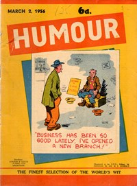 Humour (New Century, 1922 series) v36#9 — Untitled (Cover)
