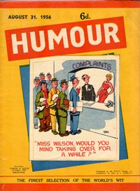 Humour (New Century, 1922 series) v36#35 — Untitled (Cover)