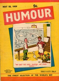 Humour (New Century, 1922 series) v39#21 — Untitled (Cover)