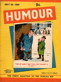 Humour (New Century, 1922 series) v39#30 — Untitled (Cover)