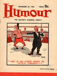 Humour (New Century, 1922 series) v40#48 — Untitled (Cover)