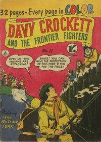 Davy Crockett and the Frontier Fighters (Colour Comics, 1955 series) #11 ([September 1956?])