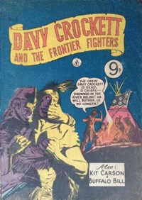 Davy Crockett and the Frontier Fighters (Colour Comics, 1955 series) #4 ([February 1956?])