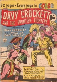 Davy Crockett and the Frontier Fighters (Colour Comics, 1955 series) #10 ([August 1956?])