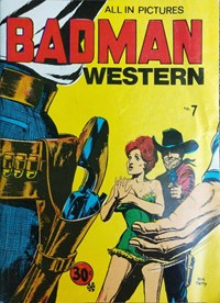 Badman Western Library (Yaffa/Page, 1971? series) #7 — Untitled (Cover)