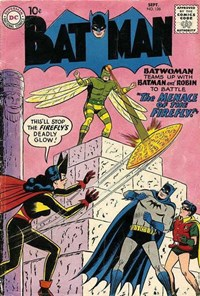 Batman (DC, 1940 series) #126 — The Menace of the Firefly!