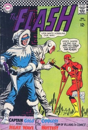 The Flash (DC, 1959 series) #166 (December 1966)