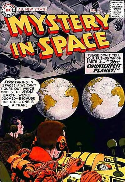 Mystery in Space (DC, 1951 series) #35 (December 1956-January 1957)