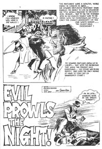 Planet Series 3 (Murray, 1980 series) #7 — Evil Prowls the Night! (page 1)