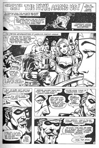 Superman Presents Super Heroes (Murray, 1981)  — [Till Doom Do Us Part!] Chapter One: The Evil Among Us! (page 1)