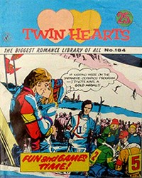 Twin Hearts (Colour Comics, 1958 series) #184 — Fun and Games Time!