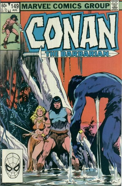 Conan the Barbarian (Marvel, 1970 series) #149 (August 1983)