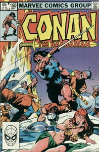 Conan the Barbarian (Marvel, 1970 series) #150 — No title recorded (Cover)