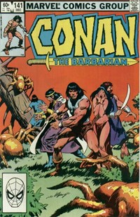Conan the Barbarian (Marvel, 1970 series) #141 (December 1982)