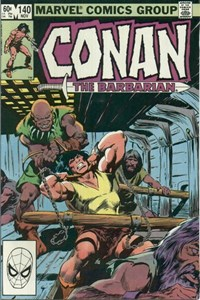 Conan the Barbarian (Marvel, 1970 series) #140 (November 1982)