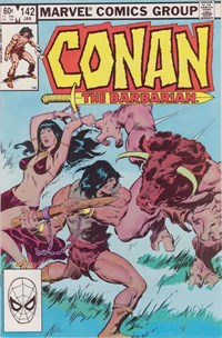 Conan the Barbarian (Marvel, 1970 series) #142 (January 1983)