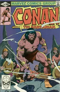 Conan the Barbarian (Marvel, 1970 series) #124 (July 1981)