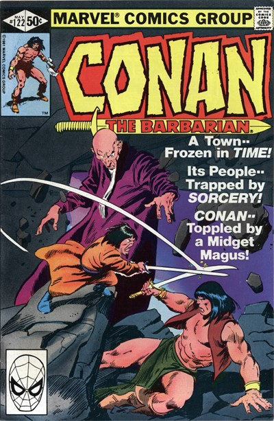 Conan the Barbarian (Marvel, 1970 series) #122 (May 1981)