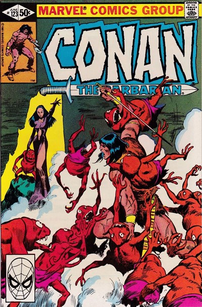 Conan the Barbarian (Marvel, 1970 series) #123 (June 1981)