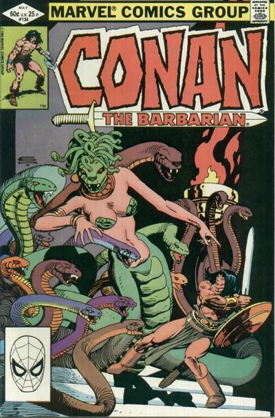 Conan the Barbarian (Marvel, 1970 series) #134 (May 1982)