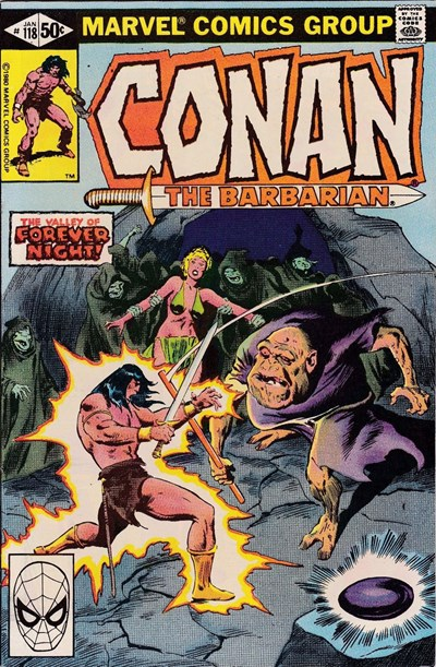 Conan the Barbarian (Marvel, 1970 series) #118 (January 1981)